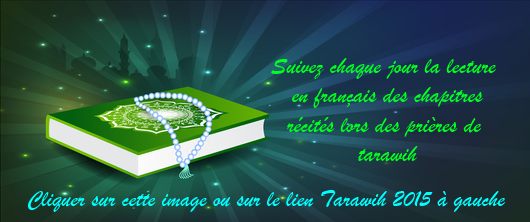 tarawih en français
